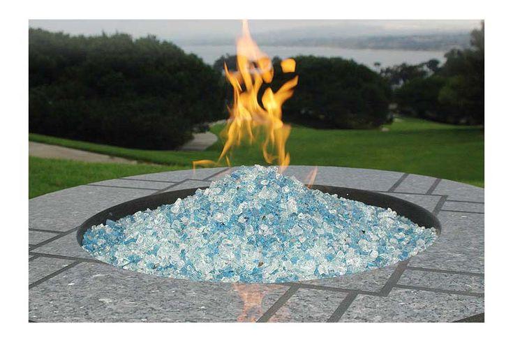 Broken Glass Fire Pit : Best glass fire pit ideas only on pinterest