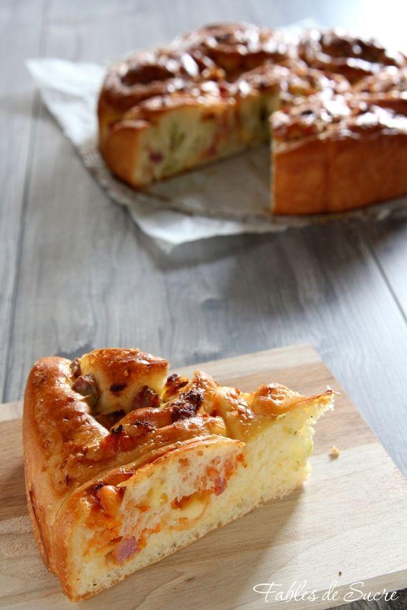 torta di rose al pomodoro e basilico