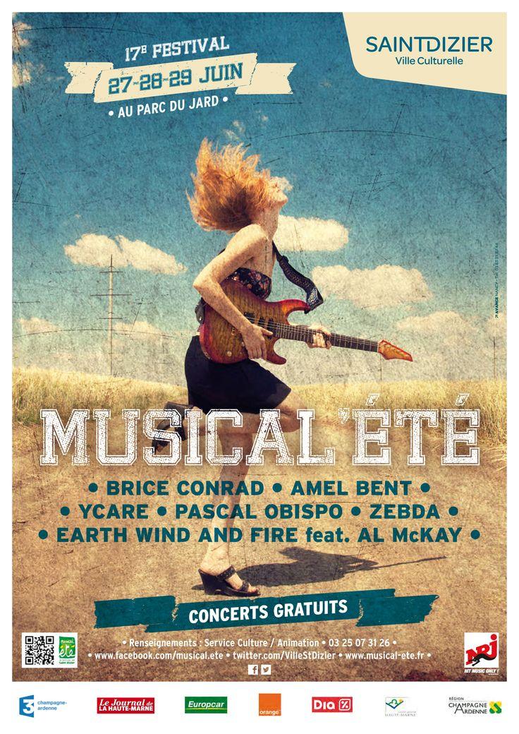 16 best festival musical 39 t images on pinterest posters for Parc du jard saint dizier