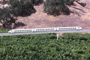 Vectorr Train Prototype in Ukiah California