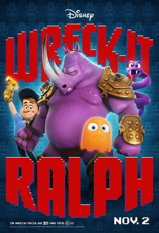 ¡Rompe Ralph! Uno de los estrenos más esperados #RompeRalph #SensaCine http://www.sensacine.com/peliculas/pelicula-190157/