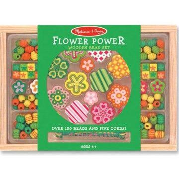 Melissa & Doug - Bead Set Flower Power