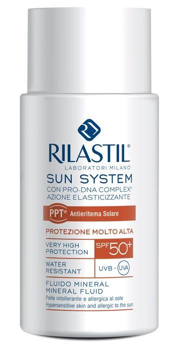 #Rilastil Sun System Fluido_Mineral Pelle intollerante e allergica al sole SPF 50 - Farmacia Dott.ssa Alessandra Bianchi