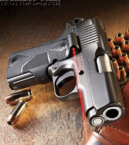 Kimber Ultra Carry II in .45 ACP with Crimson Trace Laser grips
