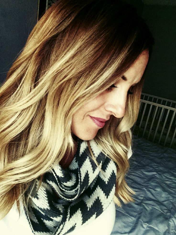 Diy Ombre/Balayage. Let blonde grow out. Touch up Roots