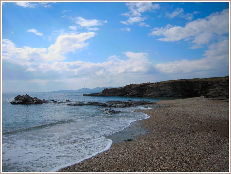 a small part of Bouros seaside ... Karystos, south Evoia