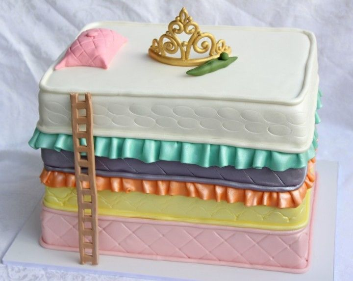 princess and the pea birthday cake short n sweet bakery big island hilo kona hawaii