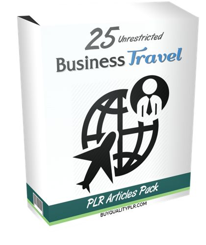 25 Unrestricted Business Travel PLR Articles Pack - http://www.buyqualityplr.com/plr-store/25-unrestricted-business-travel-plr-articles-pack/.  #businesstravel #travelingsafe #businessstrategy #businesstrips #corporatetravelpolicy #jetlag #businesstravelcosts 25 Unrestricted Business Travel PLR Articles Pack In this PLR Content Pack You'll get 25 Unrestricted Business Travel PLR Articles Pack with Private Label Rights to help you d....