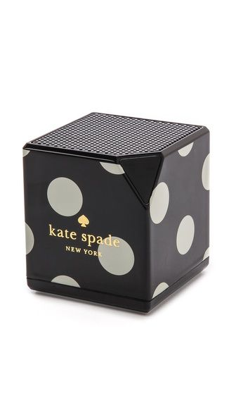 Update your office with this adorable bluetooth speaker.  I love Kate Spade and all of her polka dot items!