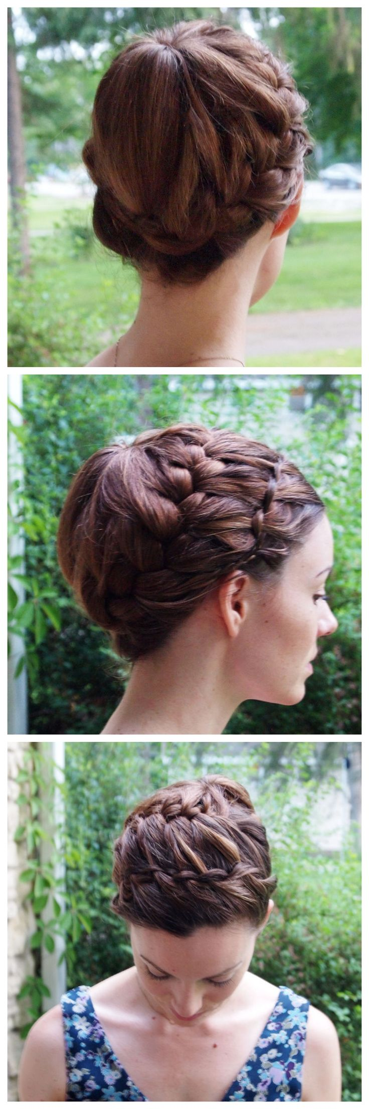 French Braid Updo Hairstyles 127 Best Images About Hairstyles On Pinterest How To Braid