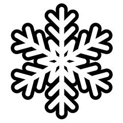 Snowflake Coloring Page 15