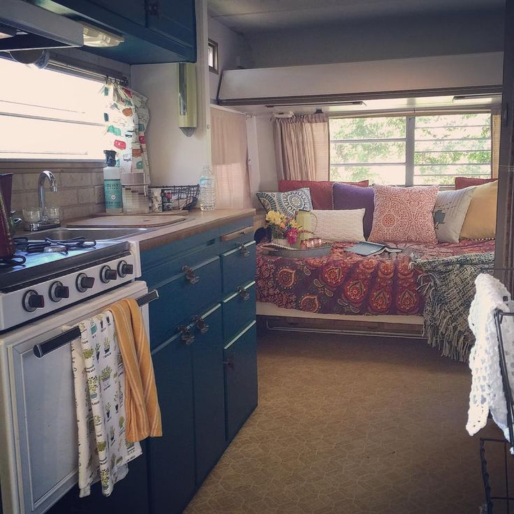 Heres A Color Camper Remodel That Will Brighten Up Your Day