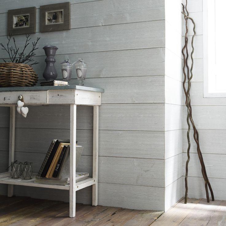 Lambris bois grisé