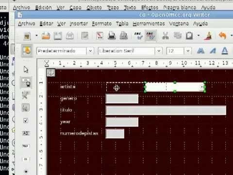 LibreOffice Base: Bases de Datos Relacionales