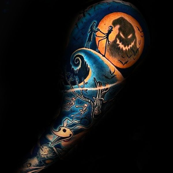 Top 95 Nightmare Before Christmas Tattoo Ideas 2020 Guide