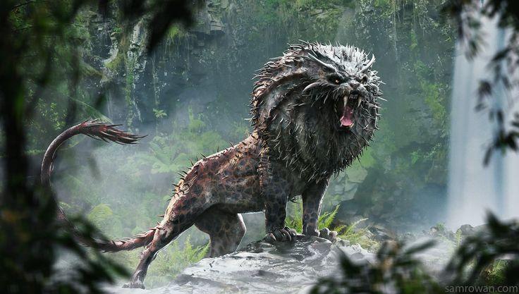 ArtStation - The Numdu - Fantastic Beasts, sam rowan