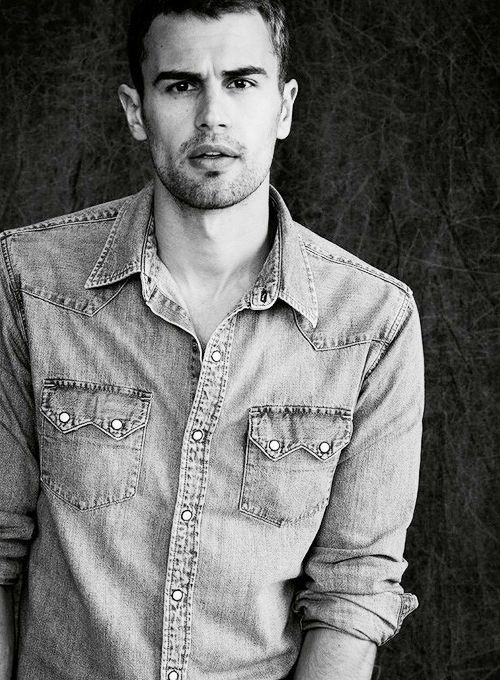 Theo James. | Theo James-HOT! | Pinterest | Theo James, James 3 and Divergent