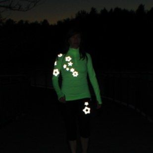 21 Cool Gadgets That Every Runner Could Use. Reflective strips in a variety of designs that you can iron on to clothing. Obnoxious? Yes. Awesome? Yes!