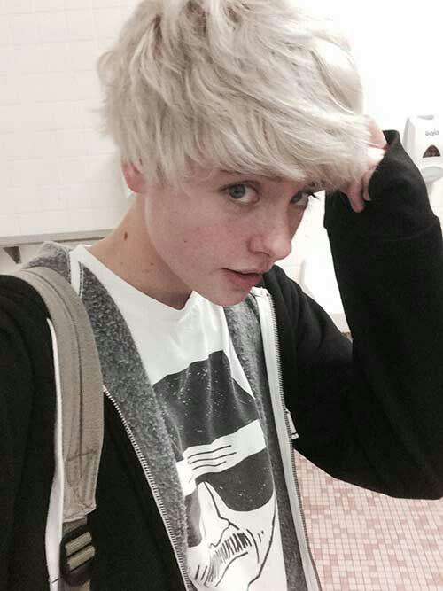 Resultado de imagen para short hair with freckles