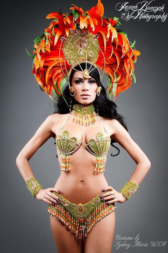 TOPAZIO IMPERIAL Samba Costume by SydneyMariaUSA on Etsy, $999.00