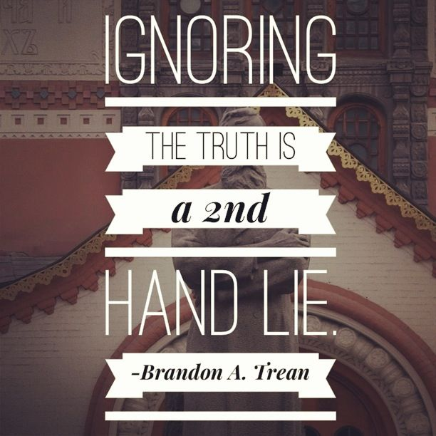 ignorance to the truth essay Not only ignorance but indifference now truth is not always one's knight in shining armor,  i believe in truth donate if you enjoyed this essay,.