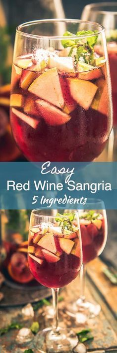 Red Wine Sangria Recipe or Red Sangria Recipe is a traditional drink from Spain where Red Wine is mixed with fruits, brandy and soda. Here is a traditional recipe to make it. Drink I Beverage I Spanish I Homemade I easy I perfect I Best I traditional I Authentic I