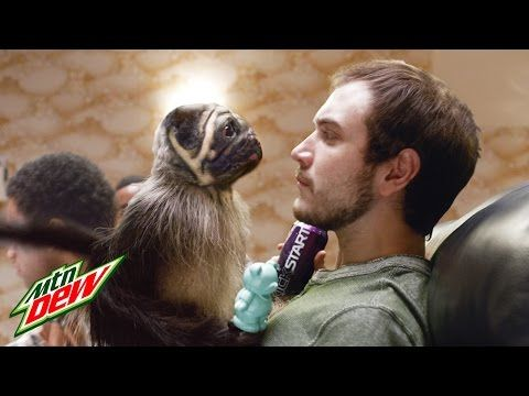 "Ten most popular commercials from Super Bowl 50 - #7. Mountain Dew, ""#PuppyMonkeyBaby."" Agency: BBDO"