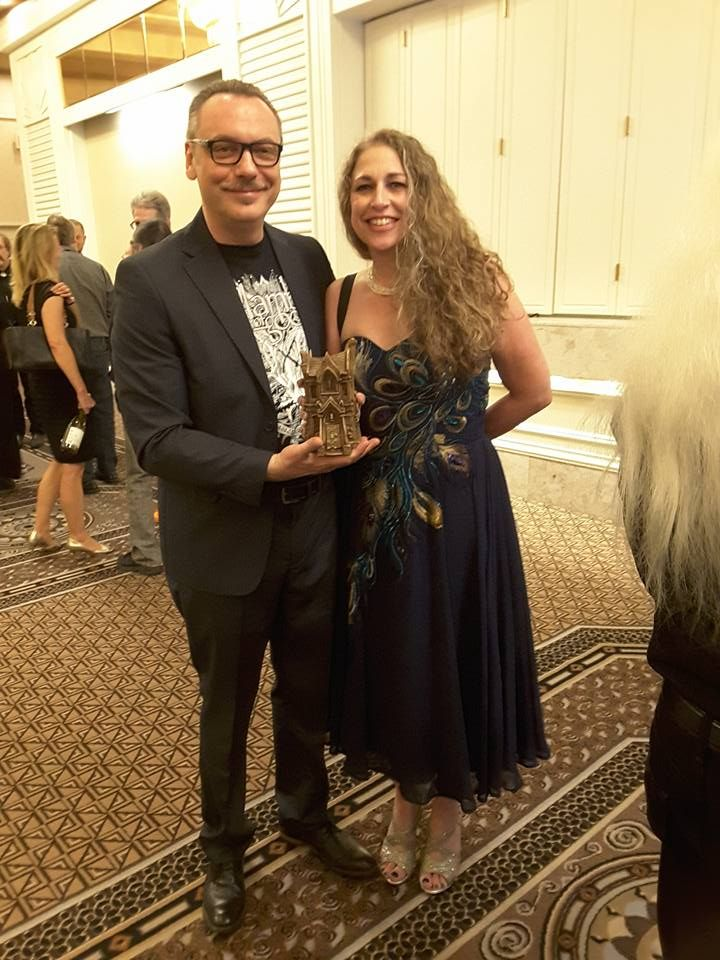 Congrats to Alessandro Manzetti, who won a Bram Stoker award for his poetry collection EDEN UNDERGROUND. His book was selected for the Superior Achievement in Poetry category.