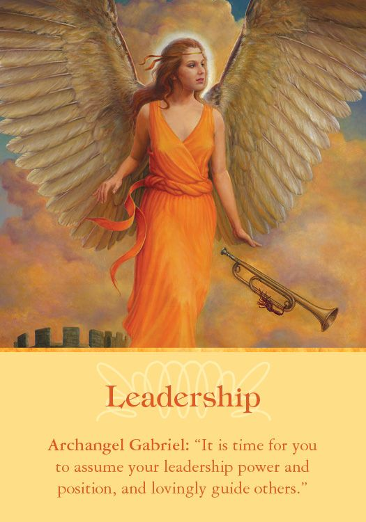 Oracle Card Leadership | Doreen Virtue | official Angel Therapy Web site
