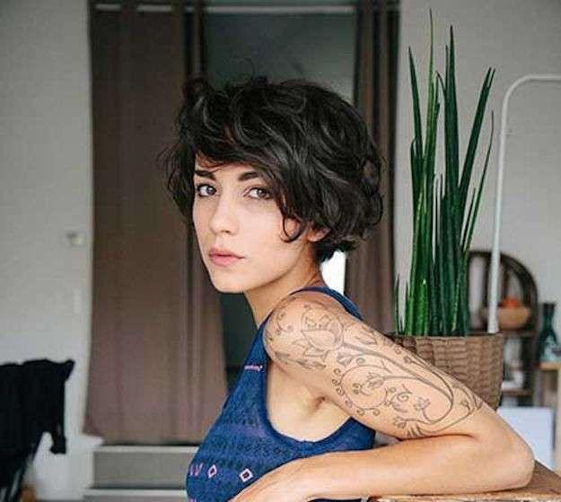 Cortes pelo corto 2016: Fotos de los looks - Corte pelo corto ondulado
