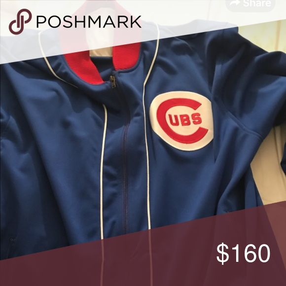Mitchell & Ness Chicago Cubs Jacket Mitchell & Ness Chicago Cubs Jacket Mitchell & Ness Jackets & Coats