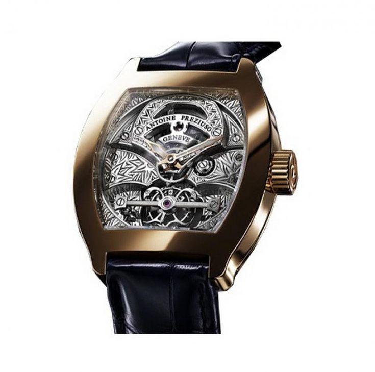 Antoine Preziuso Pink Gold Tourbillon Tourbillons The Art - швейцарские часы, мужские наручные, золотые часы