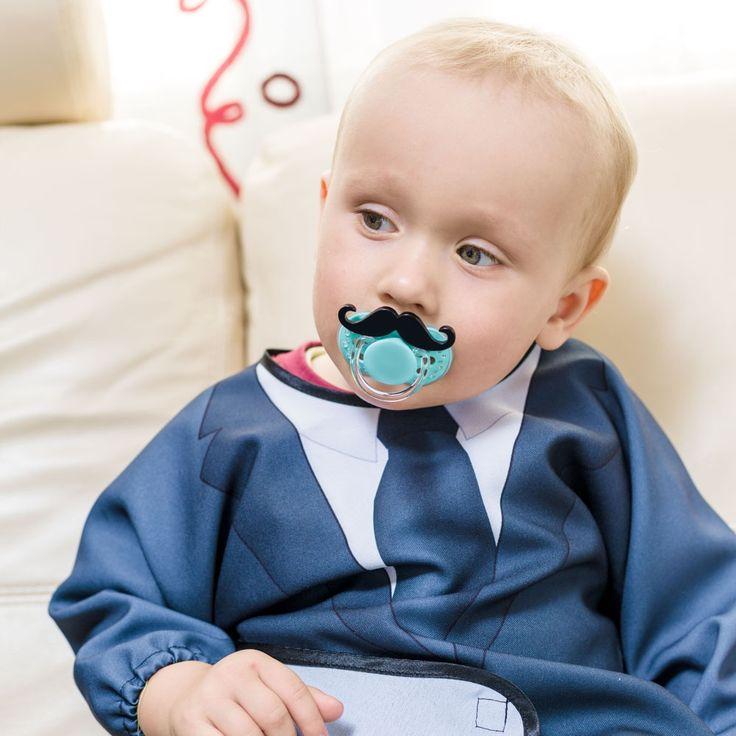 Baby Gentleman - Śliniak z rękawami - Prezent poleca ZróbPrezent.pl