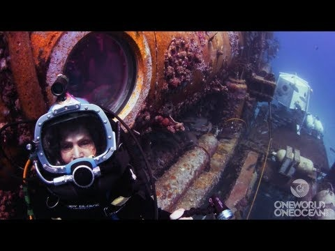 Why We Need The Ocean - Dr. Sylvia Earle at Aquarius undersea research base in Key Largo, Florida