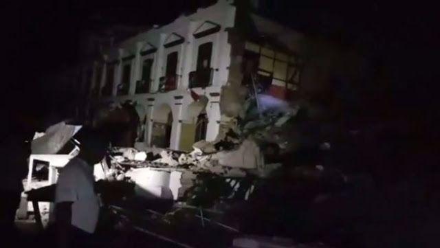 SISMO EN MÉXICO: Los saldos del terremoto: más de 30 muertos, hasta el momento