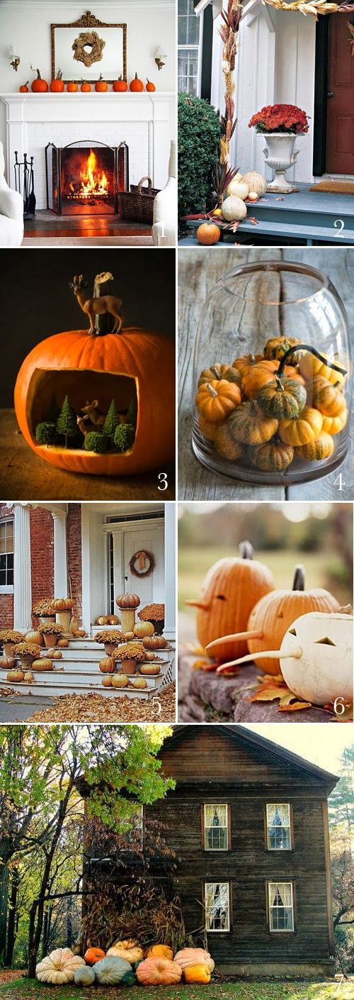 7 great ideas and beautiful pictures for an all natural halloween.