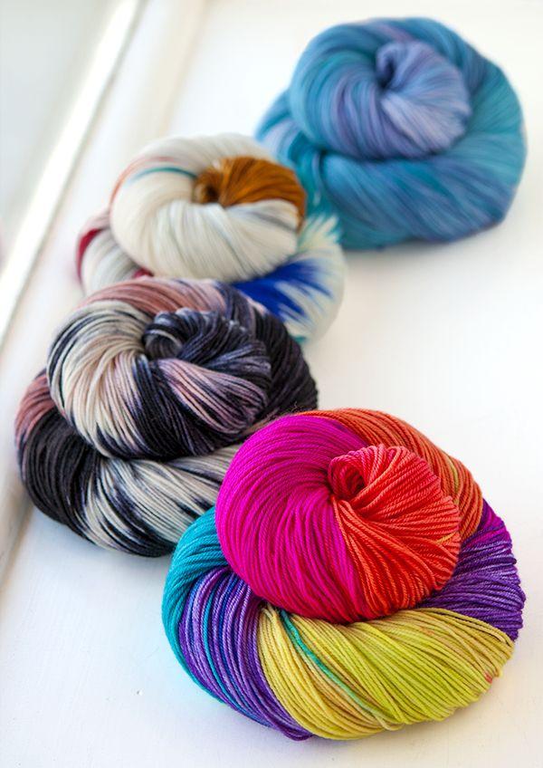 Manos del Uruguay Alegria - smooshy merino/nylon. Great for socks!   http://www.knitculture.com/yarn/companies/manos-del-uruguay/manos-del-uruguay-alegria.html