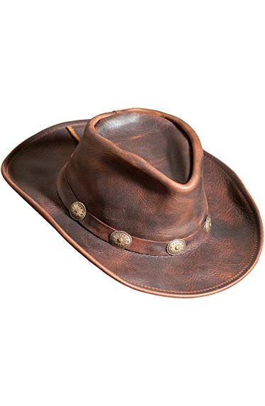 Overland Sheepskin Co Raging Bull Leather Cowboy Hat Review  d14c069b39e