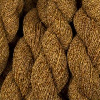 Virtal Yarns: Hebridean 2 Ply in Golden Plover
