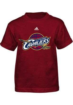 Cleveland Cavaliers Boys Red Logo T-Shirt