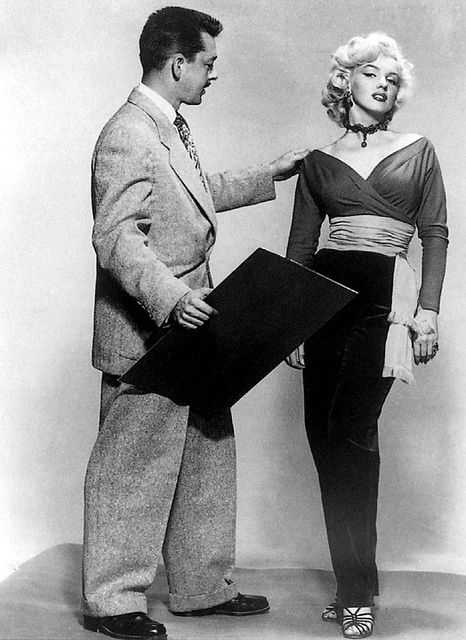 Marilyn and Travilla in 1953