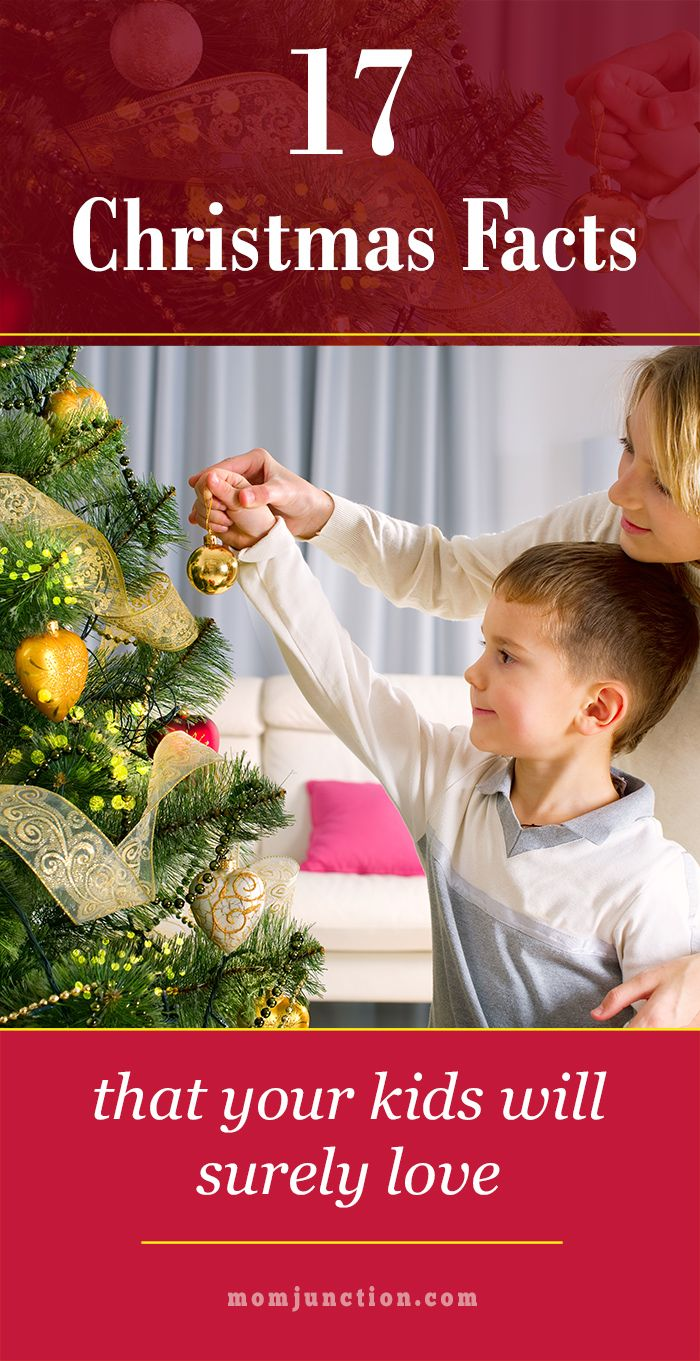 17 Fun Christmas Facts That Your Kids Will Surely Love: Read on to check out these extremely interesting and informative facts about Christmas that your kids will love to share with their friends.