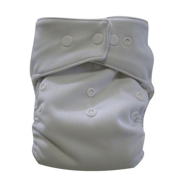 couche lavable tout en un biopocket blanc 5/15 kg