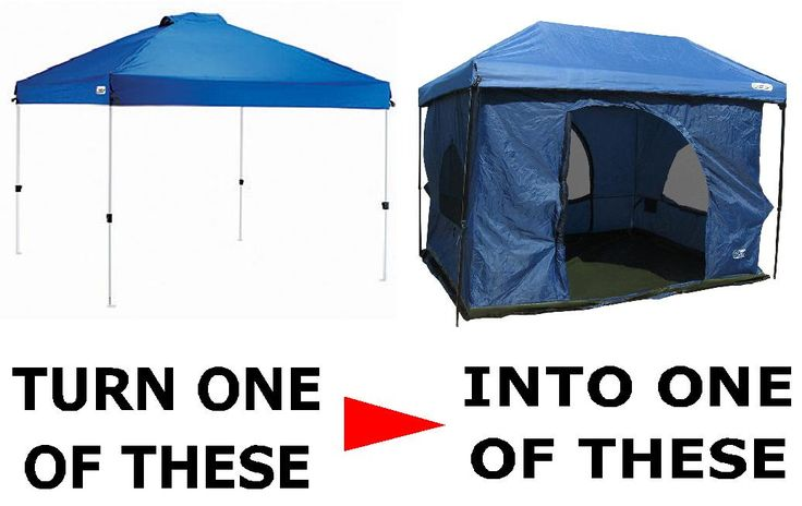 Standing Room 100 hanging Tent | Standing Room Tents