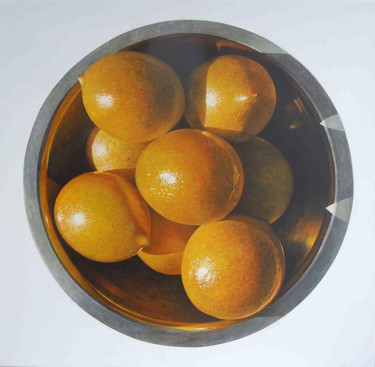 Tom Folwell Still Life with Lemons