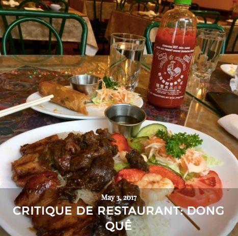 Allez lire ma critique du restaurant vietnamien Dong Quê à Montréal! #turquoiseblogmtl #foodieblog #foodlover #foodie #mtlfood #mtlfoodie #mtlresto #mtleats #514eats #vietnamesefood