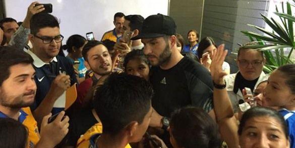 Gignac llega a Nuevo León