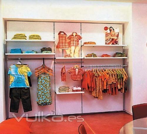 166 best images about tiendas de ropa infantil on for Muebles para ropa
