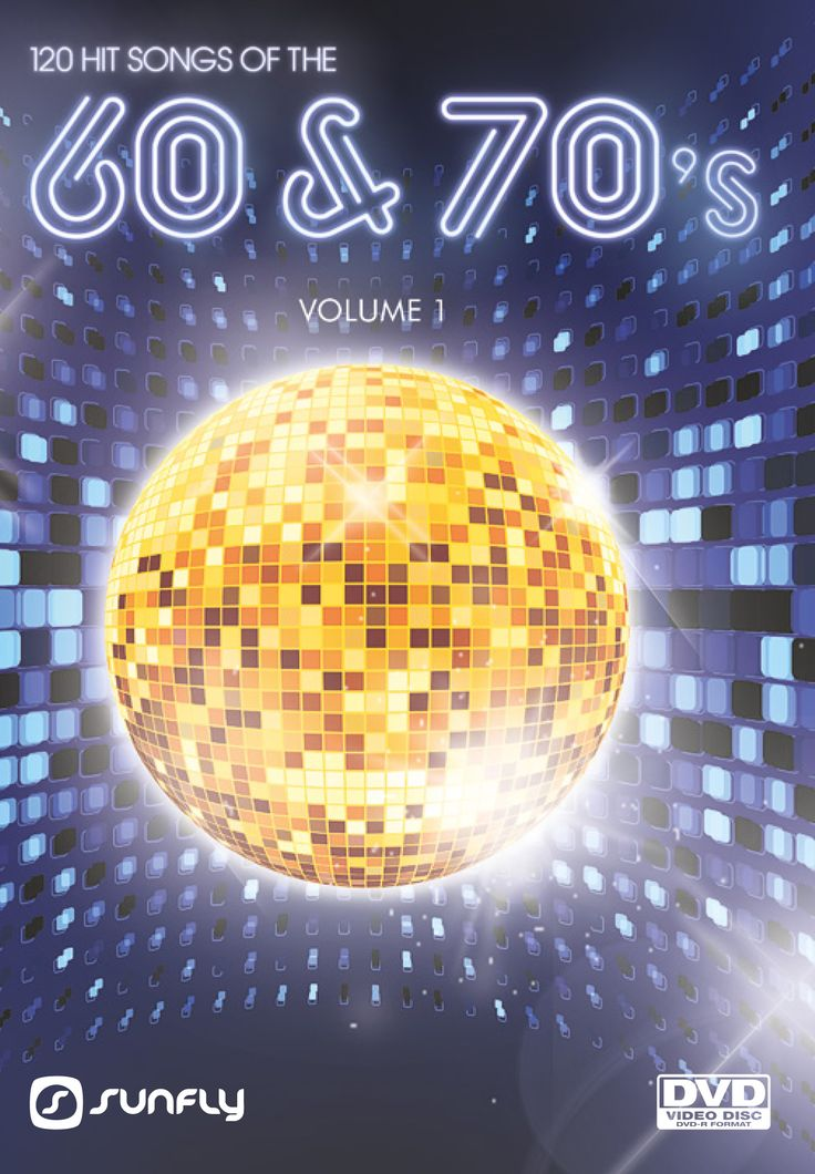 120 karaoke hits from the 60's & 70's volume 1 from Sunfly Karaoke on DVD