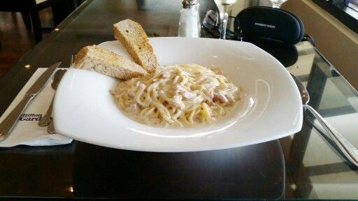 CARBONARA #spaghetti #perchèilpane?